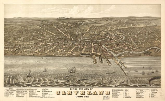 cleveland map